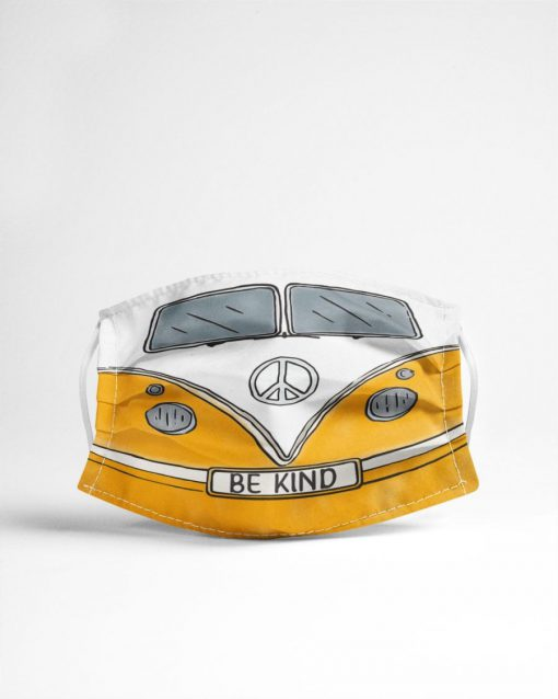Volkswagen Hippie Be Kind Face mask4