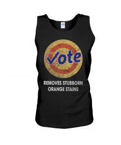 Vote Removes Stubborn Orange Stains tank top
