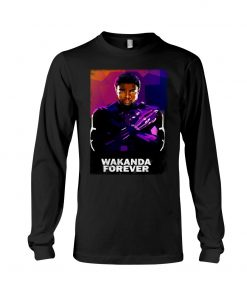 Wakanda Forever Watercolor Long sleeve