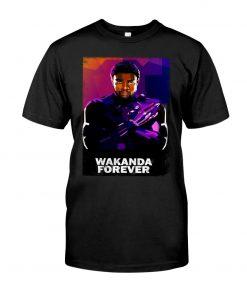 Wakanda Forever Watercolor T-shirt