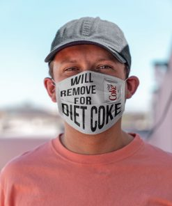 Will remove for Diet Coke face mask 1