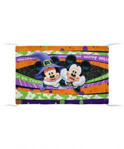Mickey Mouse & Minnie Mouse Halloween face mask