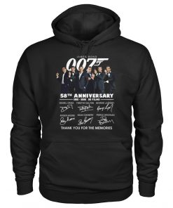 007 James Bond 58th Anniversary Hoodie
