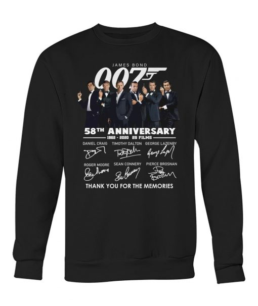 007 James Bond 58th Anniversary Sweatshirt
