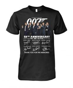 007 James Bond 58th Anniversary T-shirt