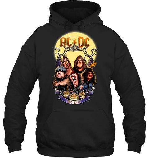 ACDC Halloween hoodie