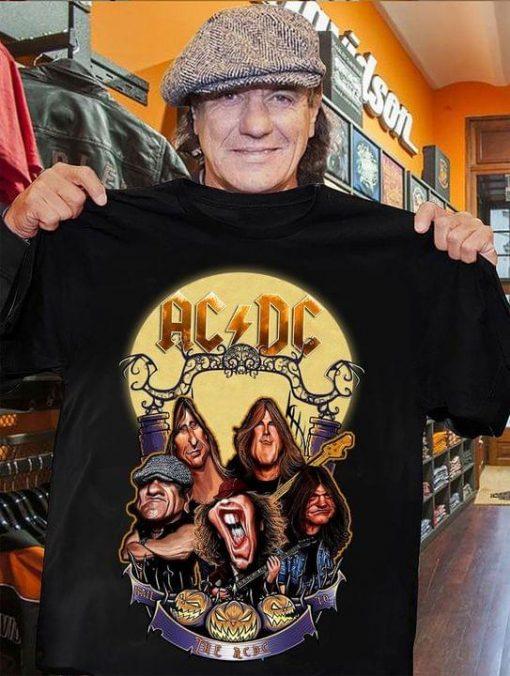 ACDC Halloween shirt 0