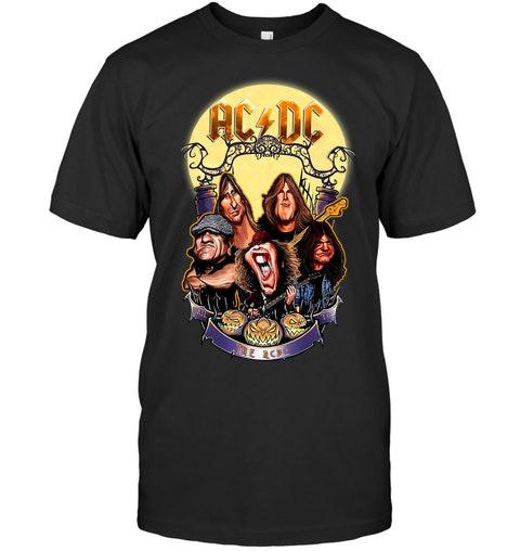 ACDC Halloween shirt