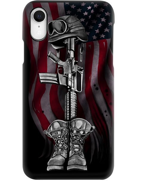 American Veteran Flag phone case 7