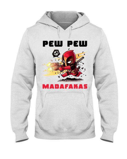 Baby Deadpool Pew Pew Madafakas hoodie