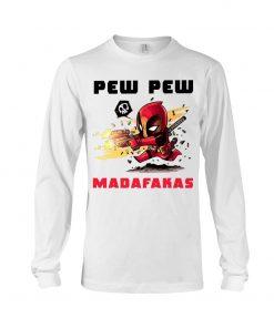 Baby Deadpool Pew Pew Madafakas long sleeve