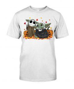 Baby Yoda Jack Skellington Halloween T-shirt