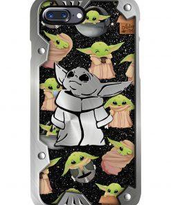 Baby Yoda Pattern phone case