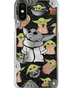 Baby Yoda Pattern phone case3