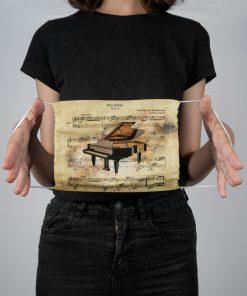 Beethoven - Für Elise face mask2