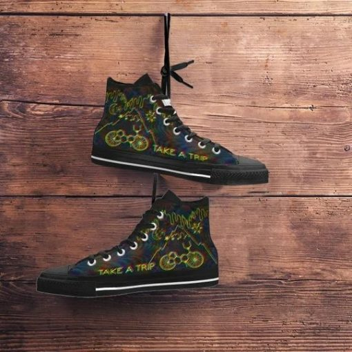 Bicycle Day Take A Trip High Top Shoes3