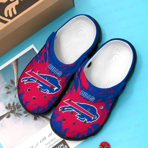 Buffalo Bills Crocs Crocband Clog3