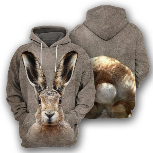 Bunny - 3D All Over Printed Hoodie