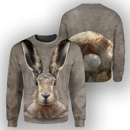Bunny - 3D All Over Printed Hoodie1