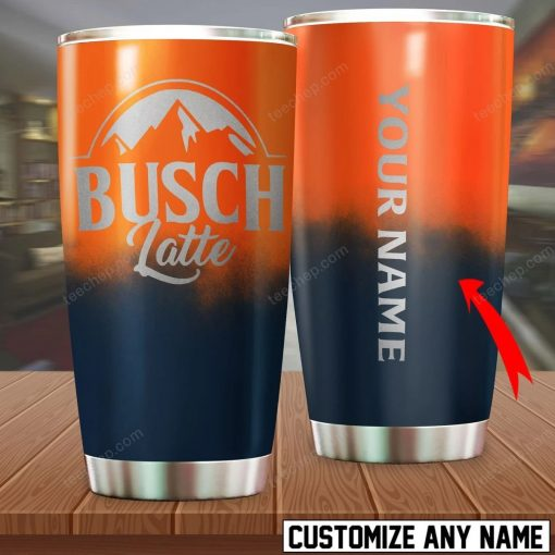 Busch Latte personalized tumbler