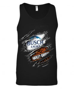 Busch Light Harley Davidson Motorcycles tank top