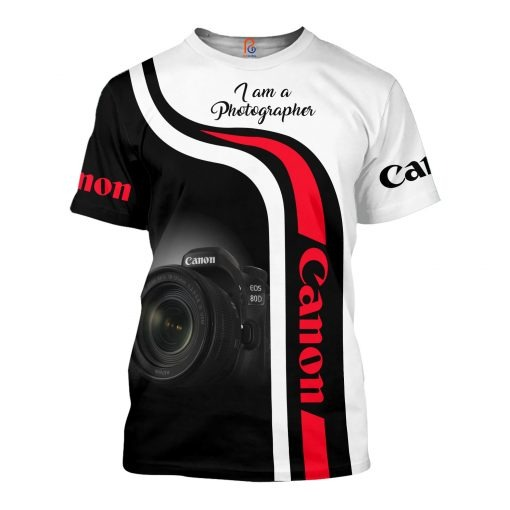 Canon I Am A Photographer 3D All Over Printed shirt