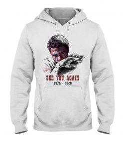 Chadwick Boseman See you again 1976-2020 hoodie