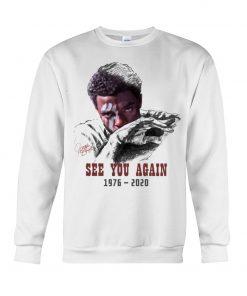 Chadwick Boseman See you again 1976-2020 sweatshirt