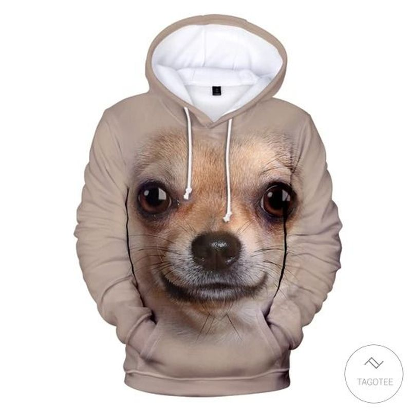 Chihuahua 3D All Over Print Hoodie
