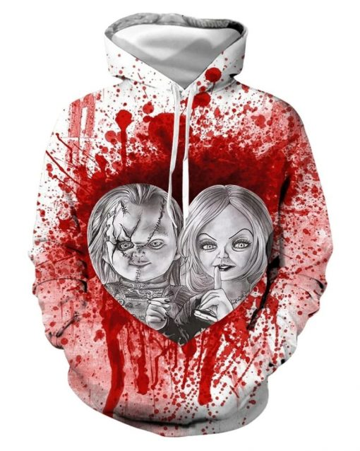 Chucky 3D All Over Print Hoodie