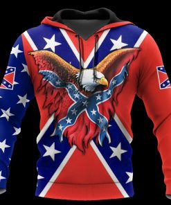 Confederate States of America 3D All Over Printed Hoodie