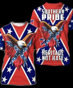 Confederate States of America 3D All Over Printed shirt