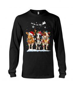 Cow Christmas Long sleeve