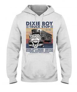 Dixie Boy Truck stop open 24 7 diesel service dinner shower arcade Hoodie