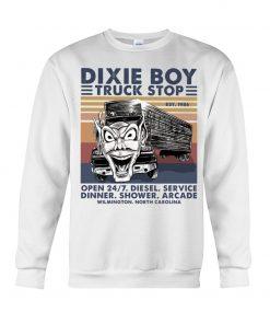Dixie Boy Truck stop open 24 7 diesel service dinner shower arcade Sweatshirt