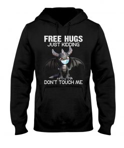 Dragon Free hugs just kidding don't touch me hoodie