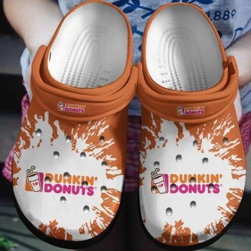 Dunkin' Donuts Crocs Crocband Clog