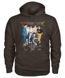 Dynamite BTS signatures Hoodie
