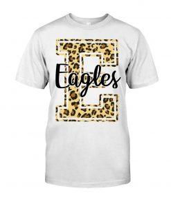 Eagles School Mascot Leopard Skin T-shirt