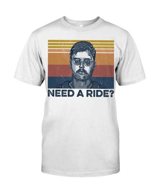 Edmund Kemper Need A Ride T-shirt