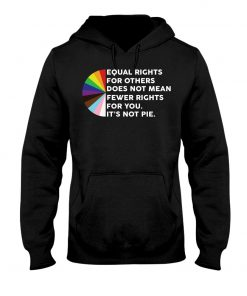 Equal Rights For Others Does Not Mean Fewer Rights For You It's Not Pie Hoodie