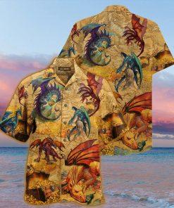 Every treasure is guarded by dragons Hawaiian Shirt1