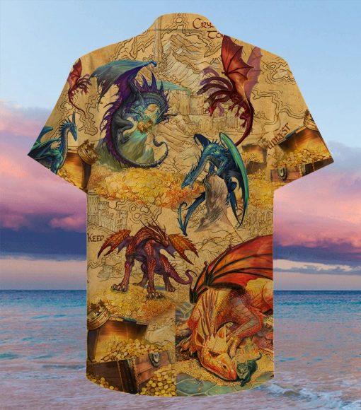Every treasure is guarded by dragons Hawaiian Shirt3