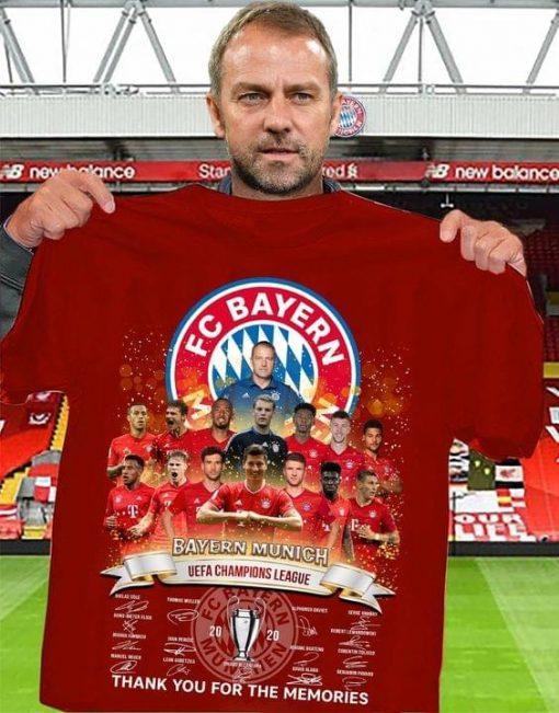FC Bayern Munich UEFA Champions League shirt