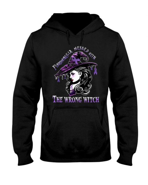 Fibromyalgia messed with The wrong witch Hoodie