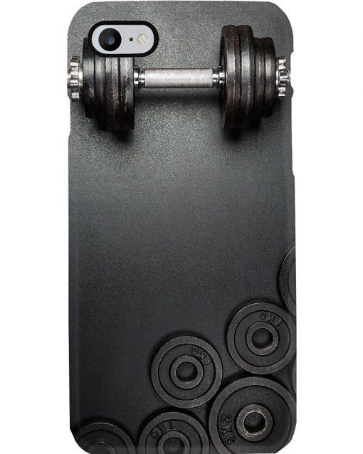 Fitness Dumbbell phone case
