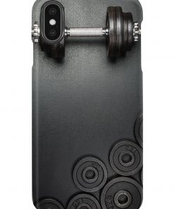 Fitness Dumbbell phone case1