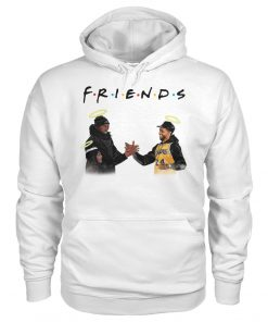 Friends Kobe Bryant Lakers - Chadwick Boseman hoodie