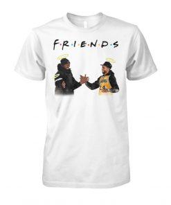 Friends Kobe Bryant Lakers - Chadwick Boseman shirt