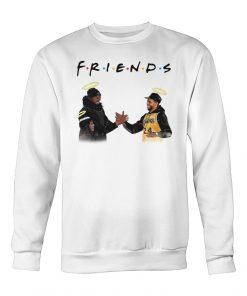 Friends Kobe Bryant Lakers - Chadwick Boseman sweatshirt